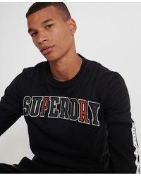 Superdry Camiseta con aplique Crafted Casuals - Negro