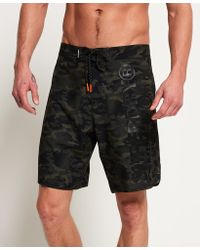 Superdry - Deep Water Board Shorts - Lyst
