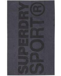 Superdry Sport Microfibre Towel - Grey