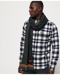 Superdry - Super Capital Scarf - Lyst