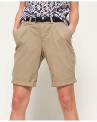 Superdry International City Shorts - Brown