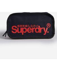 Superdry Combray Tarp Toilettas - Blauw