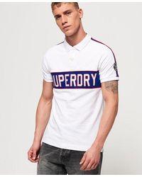 Superdry Retro Sports Polo Shirt - White