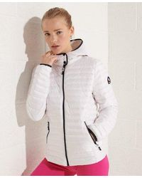 Superdry Core Down Jacket - White