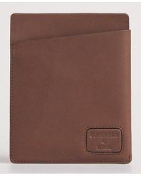 Superdry Nyc Leather Passport Holder - Brown
