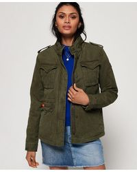 Superdry Classic Winter Rookie Military Jacket - Green