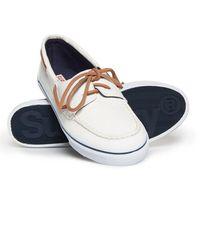 Superdry Zapatos náuticos Ocean - Blanco