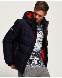 Superdry Sports Puffer Jacket - Blue