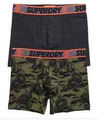 Superdry - Organic Cotton Boxer Double Pack - Lyst