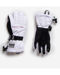 Superdry Sport Rescue Snow Handschoenen - Wit