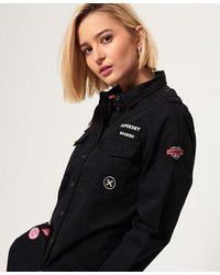 Superdry Military Shirt - Black