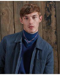 Superdry Dry Dry Bandana Sjaal In Gelimiteerde Oplage - Blauw