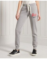 Superdry - Collegiate Scripted Joggers - Lyst