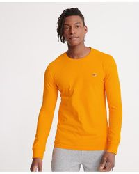 Superdry Organic Cotton Collective Long Sleeved Top - Orange