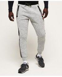 Superdry Gym Tech Colour Block Joggers - Grey