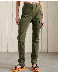Superdry Pantalon cargo slim - Multicolore