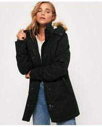 Superdry Model Microfibre Jacket - Green