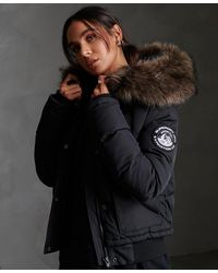 Superdry Everest Ella Bomber Jacket - Black