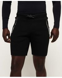Superdry Core Gym Tech Shorts - Black