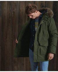 Superdry Everest Parka Coat - Green