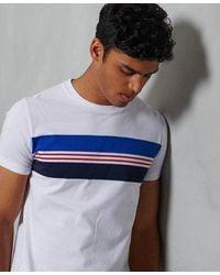 Superdry Organic Cotton R & P Chestband T-shirt - White