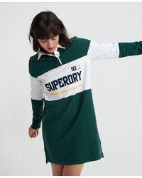 Superdry Webb Rugby Dress - Green