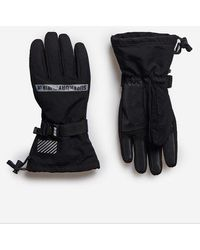 Superdry Sport Guantes Snow Rescue - Negro
