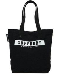 Superdry Surplus Goods Explorer Tote Bag - Black