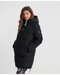 Superdry Ion Padded Coat - Black