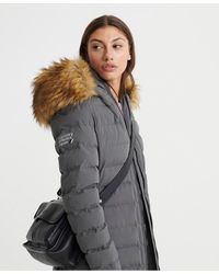 Superdry Arctic Tall Puffer - Gray