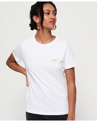 Superdry - Camiseta Core Orange Label Elite - Lyst