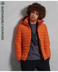 Superdry Veste à capuche Fuji - Orange