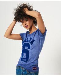 9e814dc2e5a6 Lyst - adidas Originals Osaka Archive Jersey T-shirt in Blue