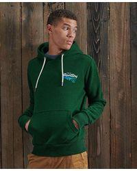 Superdry Tri Classics Hoodie - Green