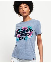 Superdry - Super 23 Tropical Burst T-shirt - Lyst