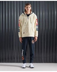 Superdry Sudadera con capucha y borreguillo NYC - Multicolor
