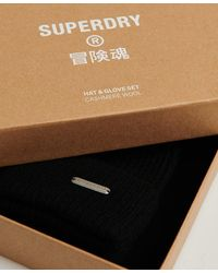 Superdry Cadeauset Van Kasjmier - Zwart