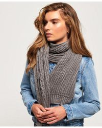 Superdry - Aries Sparkle Scarf - Lyst