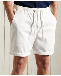 Superdry Sunscorched Chinoshort - Wit