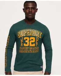 Superdry - Track & Field Long Sleeve T-shirt - Lyst