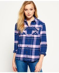 Superdry - Milled Flannel Shirt - Lyst