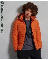 Superdry Hooded Fuji Jacket - Orange