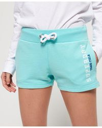 Superdry Track & Field Lite Shorts - Green