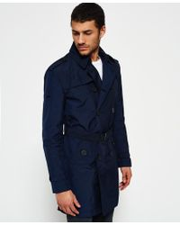 Superdry | Ie Rain Trench Coat | Lyst