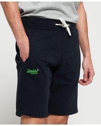 Superdry Orange Label Lite Shorts - Blue