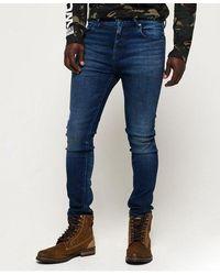 Superdry Slim Tyler Comfort Jeans - Blue