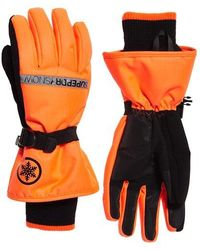 Superdry Ultimate Snow Service Gloves - Orange