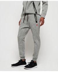 Superdry Gym Tech Stretch Slim Sweatpants - Gray