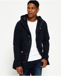 Superdry - Classic Rookie Military Parka Coat - Lyst