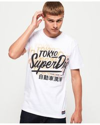 Superdry Ticket Type Oversized Fit T-shirt - White